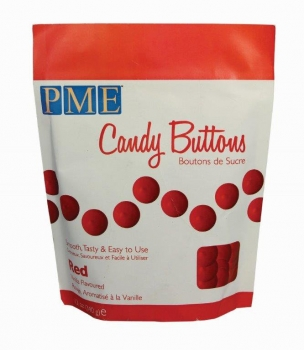 PME Candy Buttons Rot 340g